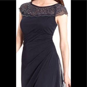 Beautiful black sequin shoulder dress